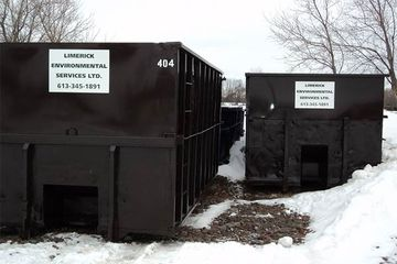 Roll-off containers (20, 30 and 40 cubic yards)