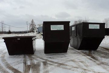 Lugger containers (10, 15 and 20 cubic yards)